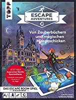 Escape Adventures AR - Augmented Reality. Von Zauberbuechern und magischen Missgeschicken: Das ultimative Escape-Room-Erlebnis mit spannenden Augmented-Reality-Raetseln fuer 1-4 Spieler. Schwierigkeitsgrad Mittel. 90 Minuten Spielzeit. Inkl. APP fuer Augmented Reality (iOS und Android)