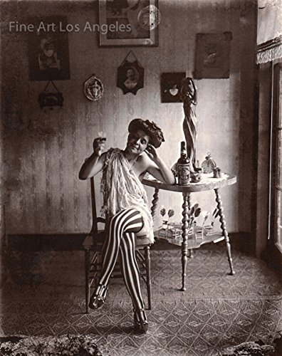 Fine Art Los Angeles Bellocq Foto Storyville Prostituierte #5, New Orleans, 1910-1915