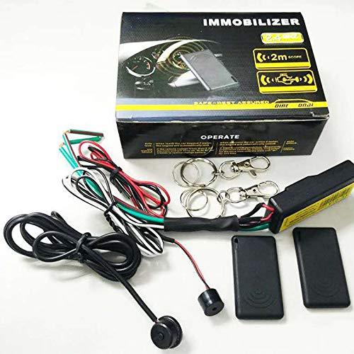 Kamenda Sistema de Alarma Antirrobo de Bloqueo de Motor de Coche de 2,4 GHz, BotóN de Control de Host, Inmovilizador de Arranque, Entrada Sin Llave para Coche