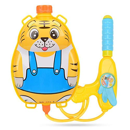 Hsada_Home Storage HSada Cartoon Animal Backpack Watergun - Water Gun Backpack Pump Squirt Gun Soaker Blaster High Capacity Long Range Outdoor Swimming Pool Beach Summer Toys - Best Gift for Kids