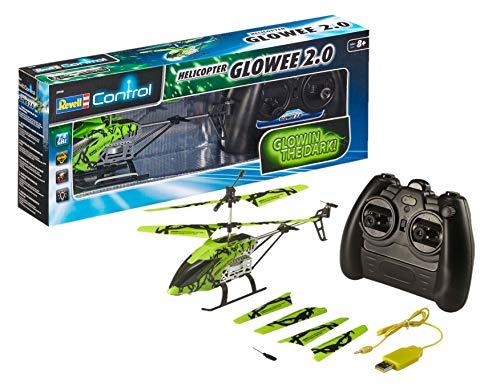 Revell Helicóptero teledirigido para Principiantes, Control Remoto de 2,4GHz, fácil de Hacer Volar, Gyro, chasis Estable