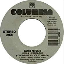 Janie Fricke: It Ain't Easy Bein' Easy/He's A Heartache (LookingFor A Place To Happen)