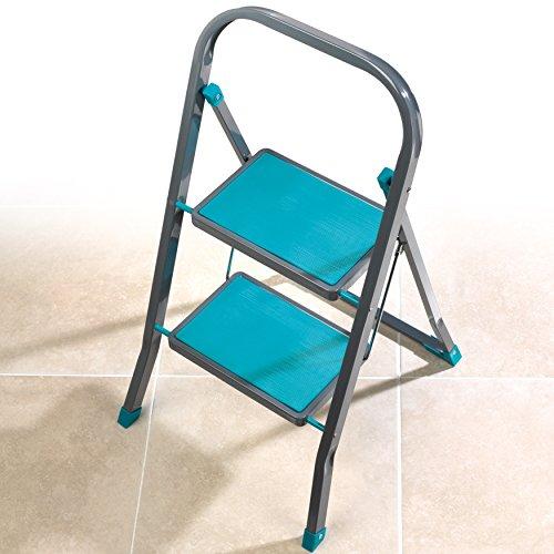 Beldray trapladder, staal, turquoise, eenheidsmaat