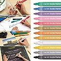 Drezzed Propylene Non-Toxic Odorless Waterproof Paint Marker Pen