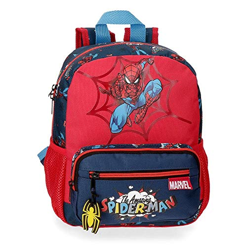 51nm8bgHmSL - Mochila 28cm Spiderman Pop