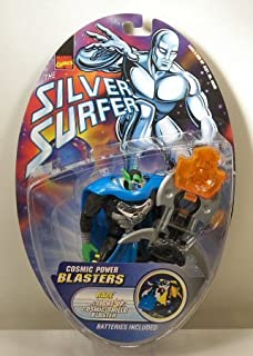 MARVEL LEGEND SILVER SURFER RAZE w/LIGHT UP COSMIC SHIELD BLASTER MOC by Marvel