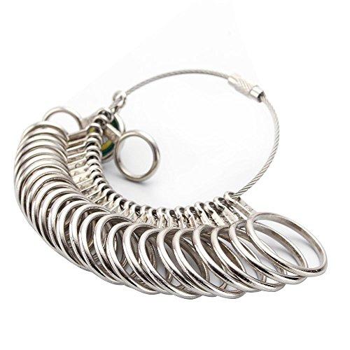 Ring Sizer Gauge Jewelry Finger Size Sizing Tool