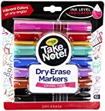 Crayola Low Odor Dry Erase Markers for Kids & Adults, Chisel Tip, Back To School Supplies, 12 Count
