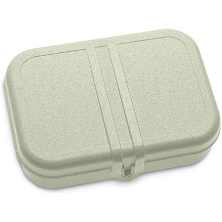 Koziol 3152668, Breakfast Box, Lunch to go, Meal Prep, Plastique, Organic Green, L