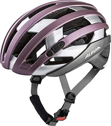 ALPINA CAMPIGLIO Fahrradhelm, Unisex– Erwachsene, rose-silver, 51-56