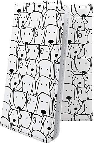 スマートフォンケース・P9 lite / P9 / P8 lite・互換 ケース マルチタイプ マルチ対応スマートフォンケース・手帳型 犬 いぬ 犬柄 動物 動物柄 アニマル どうぶつ ファーウェイ ライト 手帳型スマートフォンケース・キャラクター キャラ キャラスマートフォンケース・P 9 P9lite P8lite かわいい 可愛い kawaii lively [d7k9024vWp]