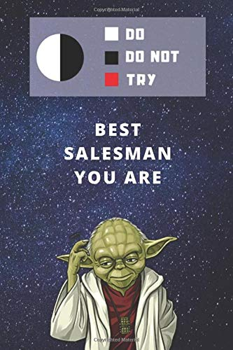 Two Year Undated Weekly Planner | Best Gift For Salesman | Date of Week Blank For Easy Daily Or Monthly Planning | Funny Yoda Quote For Salesperson: ... | Journal To Plan The Day & Sales Goals