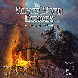 The Silver Horn Echoes: A Song of Roland audiobook cover art