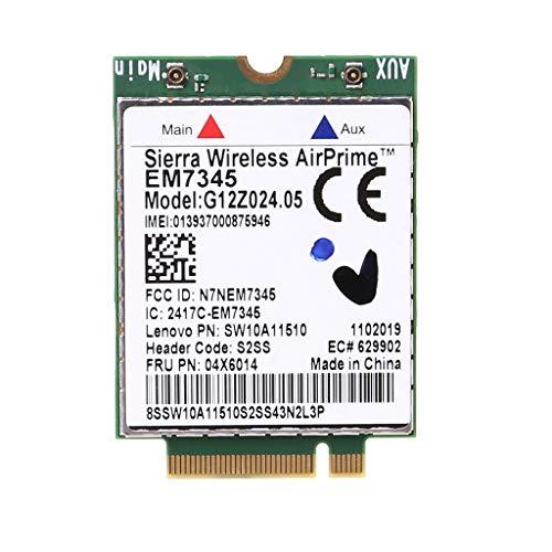 Yintiod WWAN Wireless Karte EM7345 4G LTE für Lenovo Thinkpad 04X6092 04X6015 04X6014 Sierra