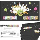 Postkartenschmiede 12 Bowling Ei...