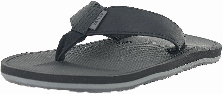 Vans NEXPA SYNTHETIC Black   Black   Pewter Mens Sandals-Men 10.0, Women 11.5