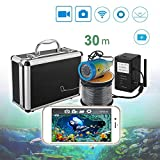 Fish Finder Video Camera Wi-Fi Wireless Signal Technology Night Vision LED can be Adjusted Underwater Camera...