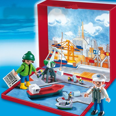 PLAYMOBIL® 4337 - MicroWelt Hafen