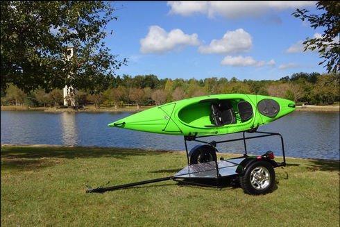 Road Keel Folding Kayak and Bike Adventure Trailer