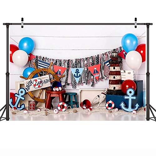 Fondo de fotografía de Retrato de bebé Fondo de Fiesta de cumpleaños para niños Sesión de Fotos Estudio fotográfico Niños Adultos Photocall A1 9x6ft / 2.7x1.8m