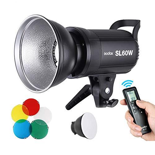 GODOX SL-60W 60Ws 5600±300K LED Video Light Studio Continuous Lamp for Camera DV Camcorder