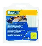 Rapid, 40107356, Bâtons de colle thermofusible, Multi-usage, Transparent, ø12mm,...