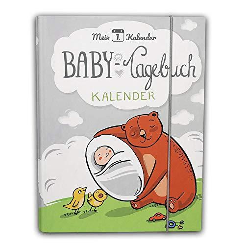 Mein 1. Kalender das Baby Tagebuch, Babys erstes Jahr, Entwicklungsberater mit 365 Tipps und Ratschlägen für dein Baby