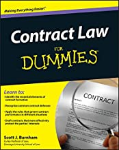 Contract Law For Dummies PDF