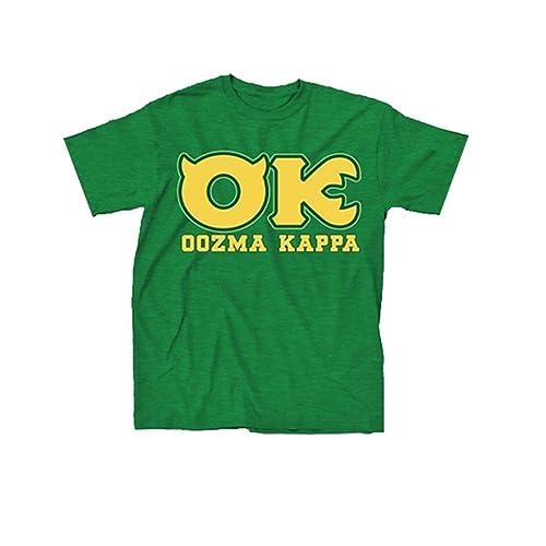 Disney Monsters University OK Oozma Kappa Member Green T-shirt 3f7c4acbfdc9
