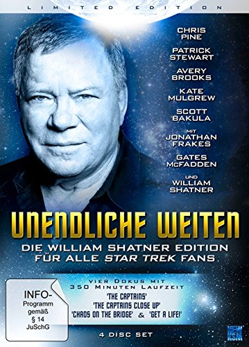 Unendliche Weiten - William Shatner's Star Trek Fan Edition (Limited Edition) (4 DVDs)