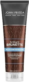 John Frieda Brilliant Brunette Multi-Tone Revealing Colour Protecting Conditioner, 8.45 Ounces