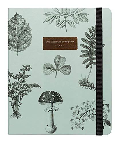 Grupo Erik Kokonote - Agenda 2021 semana vista Botanica, Edición premium, 17 meses (16.5 x 20 cm)