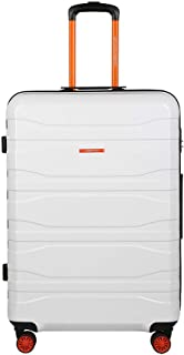 United Colors of Benetton Polycarbonate 76.5 cms White Hardsided Check-in Luggage (0IP6MP28HL09I)