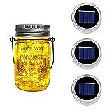 3 paquetes de la tapa del tarro de albañil - Fairy Mason luz solar cadena de...