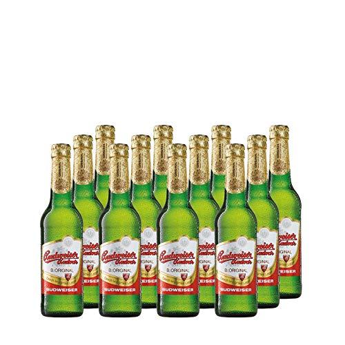 Budweiser Budvar Original Bier aus Tschechien inkl. Pfand (12 x 0.33 l)