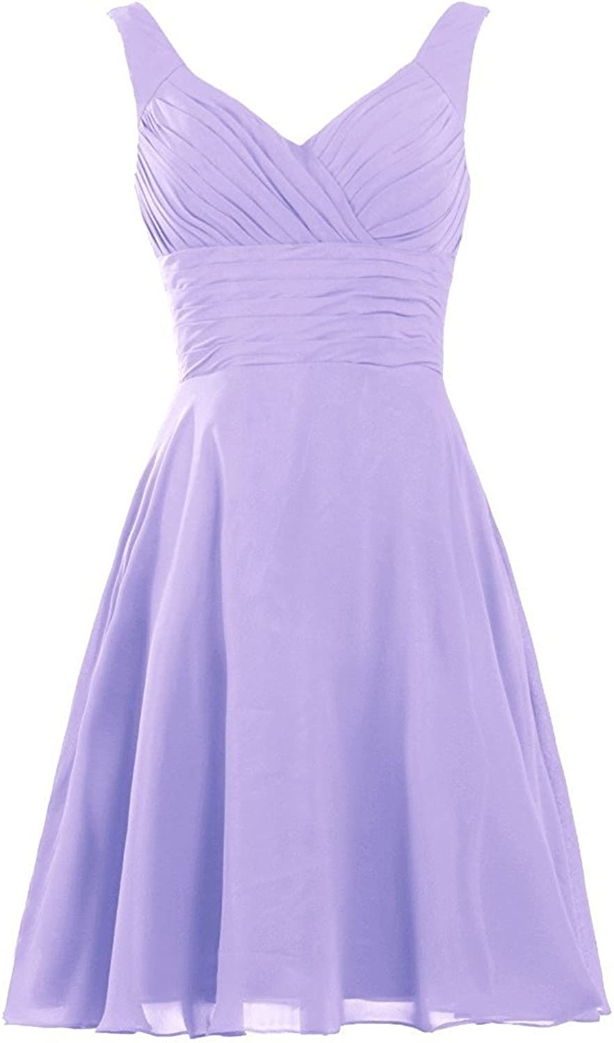 YanLian Women's Pleated Sweetheart Bridesmaid Dresses A Line Cocktail Gown YL113