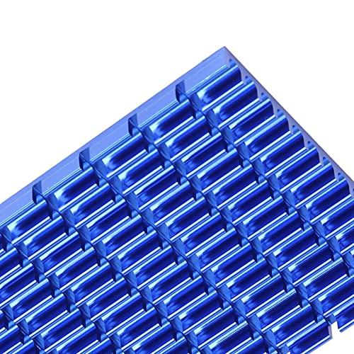 Evonecy Disipador de Calor de CPU, disipador de Calor de refrigeración Desgaste anticorrosión Ligero, para Fuentes de alimentación para radiadores IC para CPU para Placas Base