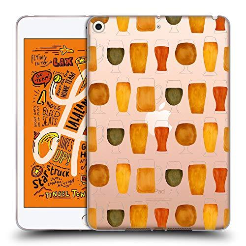 Officiële Cat Coquillette Bier Gemengde ontwerpen Soft Gel Case Compatibel voor Apple iPad mini (2019)