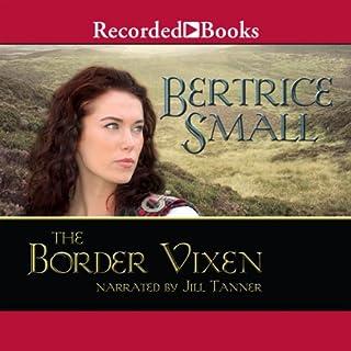 The Border Vixen audiobook cover art