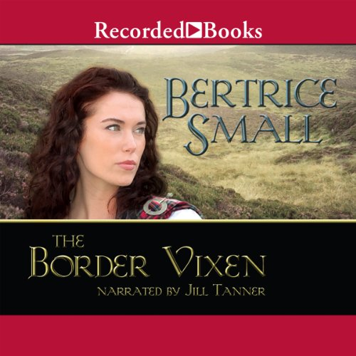The Border Vixen audiobook cover art