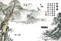 500ピース木製パズル-江南春パズル500ピース