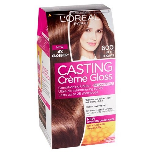 L'oral Paris Casting Crme 600 Gloss Light Brown