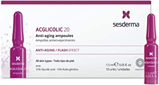 Sesderma. Acglicolic 20 Anti-Edad Efecto Flash 10X15Ml Ampollas. 1500 g