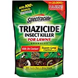 Best Grub Killers - Spectracide Triazicide Insect Killer For Lawns Granules, 40-Pound Review