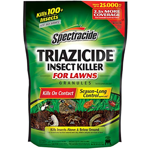 Spectracide Triazicide Insect Killer For Lawns Granules, 40-Pound,...
