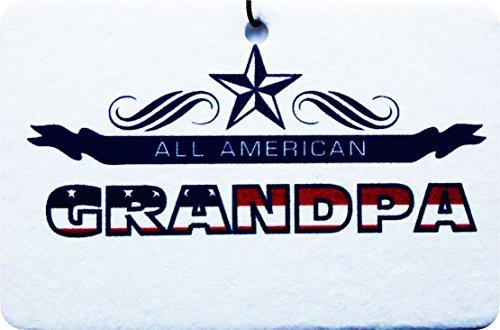 All American Grandpa Car Air Freshener