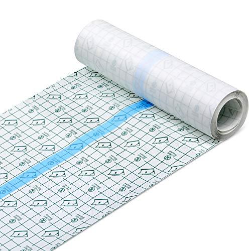 Transparent Stretch Adhesive Bandage Waterproof Bandage Clear Adhesive Bandages Dressing Tape for...