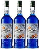 Giffard Sirop Curaçao Bleu 1 L - Lot de 3 (3L)