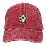 Dad Cap Bandera De Monterrey Nuevo León Ajustable Ajustable Personalizado Hip Hop Papá Gorra Gorra De Béisbol Deportes Al Aire Libre Hombres Mujeres Denim Bloqueador Solar A Prueb