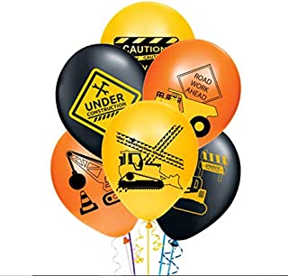Merchant Medley 30ct Construction Party Balloons - Large 12
